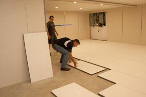 basement floor insulation contractor raleigh insulated subfloor